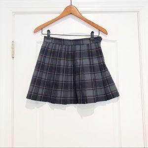 NWOT - American Apparel - Plaid Tennis Skirt